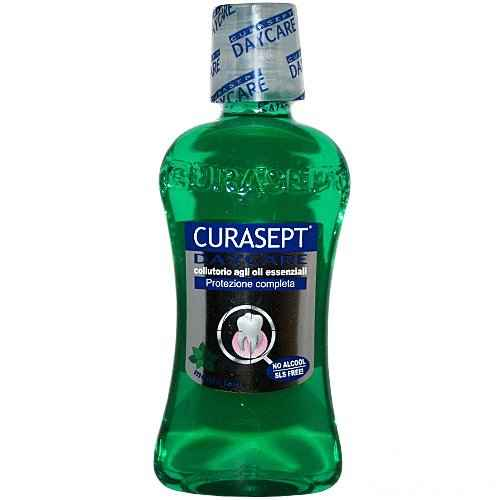 Curasept Daycare collutorio 250ml menta forte