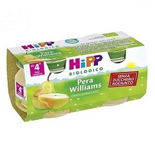 Hipp Omogenizzato Pera Williams 2 x 80 g